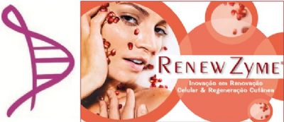 Peeling Enzimático Renovador Celular com Renew Zyme, Salix Peel, Extrato de Romã, Alfa Bisabolol e essência - 30ml. Modo de usar: Aplicar após a limpeza da face, massagear suavemente e retirar após 10 minutos.