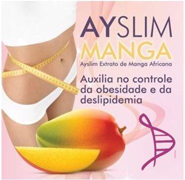 Ayslim Manga 300mg, Citrus Aurantium 200mg e Faseolamina 300mg - 60 cápsulas.  Posologia: Tomar 1 cápsula 2 vezes ao dia, meia hora antes das refeições, com um copo d'água.