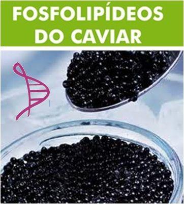 Cápsula Anti-Aging com Caviar - 60 cápsulas