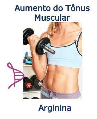 Arginina 300mg - Aumento do Tônus Muscular - 30 cápsulas. Posologia: Tomar 1 cápsula 1 hora antes dos exercícios, com 1 copo de água.