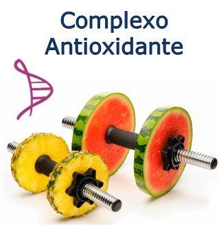 Complexo Antioxidante para Atletas - 60 cápsulas. Alfa Tocoferol 200mg, Coenzima Q10 10mg, Selênio Complex 50mcg, Cromo (DG) 50mcg. Posologia: Tomar 1 cápsula 2 vezes ao dia.