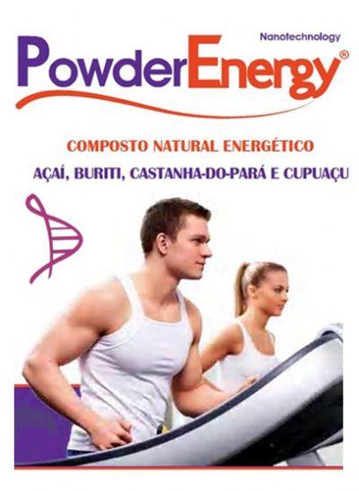 Powder Energy 1g - 60 cápsulas. Posologia: Tomar 01 dose nas principais refeições.