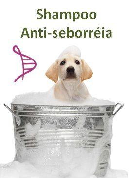 Shampoo Canino Anti-seborréia com Enxofre 2% e Ácido Salicílico 1% - 200ml. Modo de Usar: Aplicar sob forma de banho 1 vez por semana ou segundo orientação do médico veterinário.