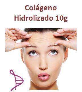 Colágeno Hidrolizado 10g + Vitamina C 1g - 30 sachês sabor laranja. Posologia: Tomar 1 envelope ao dia, preferencialmente pela manhã.