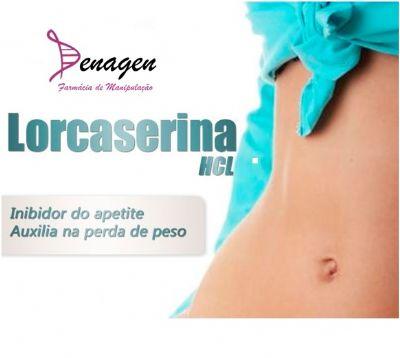 Lorcaserina 10mg - 60 cápsulas. Posologia: Ingerir 1 dose antes do almoço e do jantar.