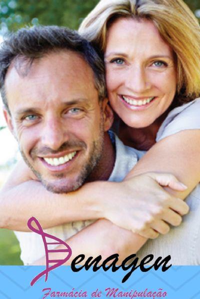 Antioxidante Complex Masculino - Embalagem com 60 doses. Posologia: Tomar 1 dose 2 vezes ao dia.