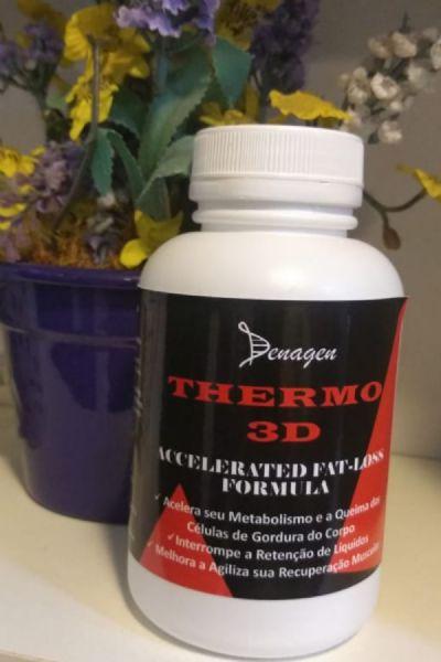 Termogênico Thermo 3D Denagen - Acelera o Metabolismo e a Queima das Células de Gordura