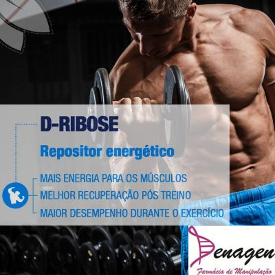D-Ribose 500mg. Posologia : Tomar 1 dose 1 hora antes do exercício e imediatamente após o mesmo.