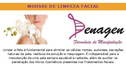 Mousse de Limpeza Facial com Extrato de Pêssego – 50ml