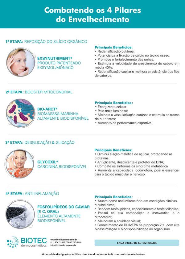 Cápsula Anti-Aging com Fosfolipídeos do Caviar - 30 cápsulas