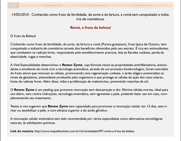 Kit Peeling de Romã - Peeling Enzimático Renovador Celular - Serum 30ml + Mousse Higienizante de Romã - 50ml